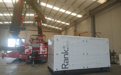 New delivery of a Rank® MT2 equipment