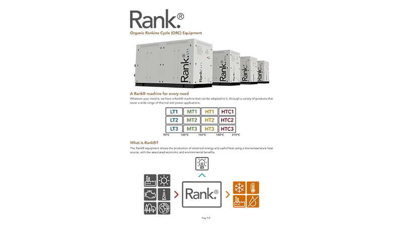 New Rank® product catalog