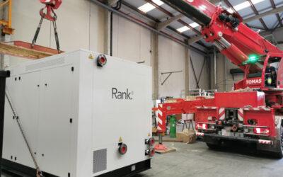 Nuevo envío de máquina RANK HTC3 camino de UK