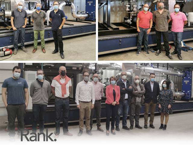 Visitas recibidas a nuestras instalaciones de producción